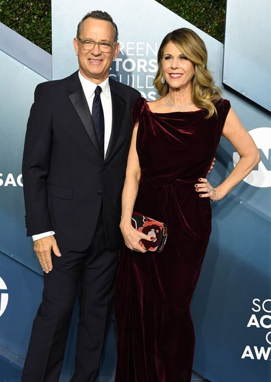 Tom Hanks and Rita Wilson, Screen Actors Guild Awards 2020