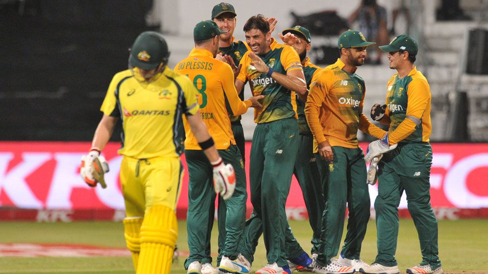 Finch fires, Aust lose by three wickets