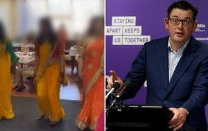 Premier criticises removal of PPE during aged care high tea party