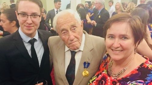 """Professor Goodall told 9NEWS that he feels """"sorry"""" that he has to travel such a large distance to Europe in order to be able to end his life. Picture: Supplied."""