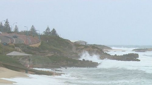 The complex system is set to trigger high tides and rough seas. (9NEWS)