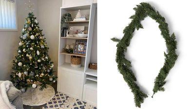 Woman shares Christmas tree hack