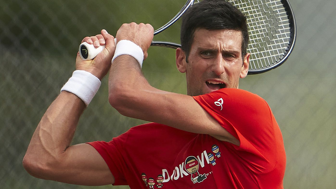 Novak Djokovic big chance of claiming unprecedented men's Golden Slam, legend says