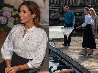 Princess Mary releases rays into the ocean, August 2020