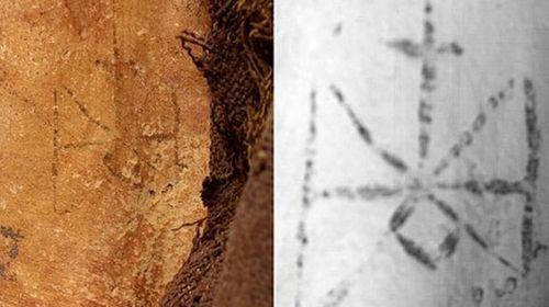 Inner-thigh tattoo found on 1300-year-old mummy