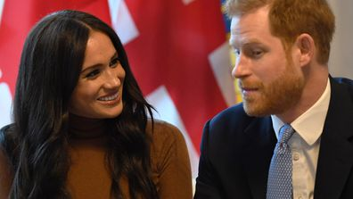 Prince Harry is 'protected, reserved' with Meghan by his side