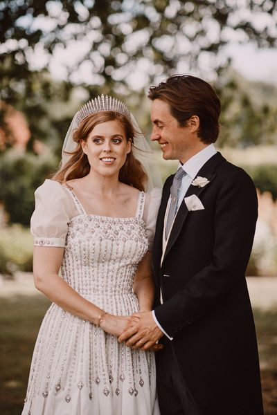 Princess Beatrice: The Queen Mary Diamond Fringe tiara