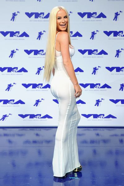 Gigi Gorgeous in August Getty at the 2017 MTV VMAs in LA, August 27.