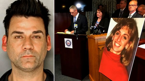 Raymond Rowe, left, has been arrested for the 1992 murder of Christy Mirack after an alleged DNA link was found. (Photos: AP).