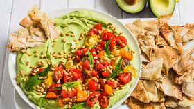 Ultimate avocado entertaining platter
