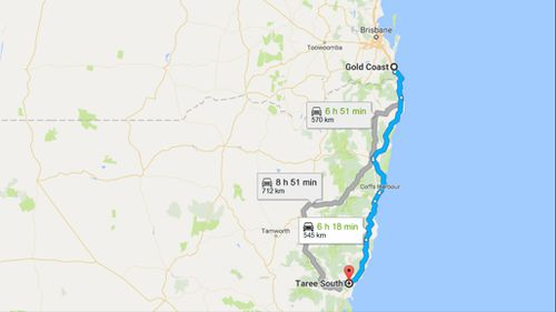 Underage Queensland girls joyride 500km in allegedly stolen car