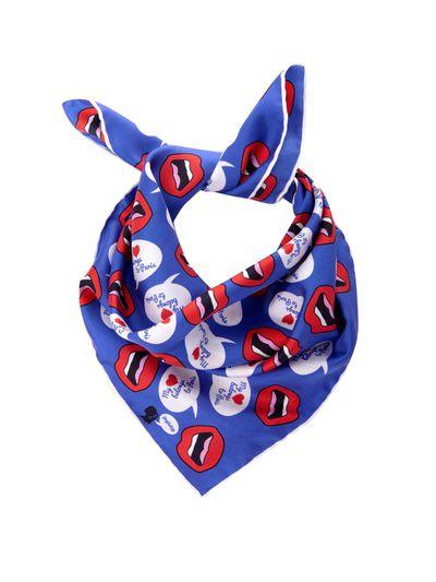 "<a href=""http://www.matchesfashion.com/au/products/Yazbukey-My-Heart-Belongs-To-Paris-print-silk-scarf-1000709"" target=""_blank"">Scarf, $88, Yazbury at matchesfashion.com</a>"