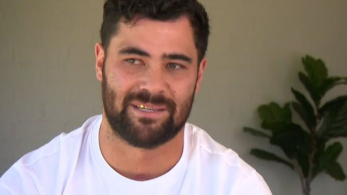 Andrew Fifita speaks to Channel Nine.