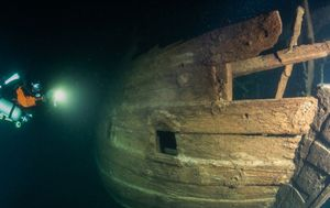 Sunken 400-year-old ship found in near perfect condition under Baltic Sea