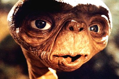 While this Spielberg classic is gentle at its core, the extra-terrestrial himself is kinda grotesque looking. The bulging eyes, the saggy skin, and that creepy voice ... but what's most upsetting is the Kleenex-inducing finale where E.T. escapes the evil clutches of the government and scientists, and bids adieu to his human friends as he finally returns home. Weep, weep ...