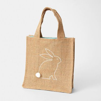 "<a href=""https://www.target.com.au/p/hessian-bag-with-bunny/59950080"" target=""_blank"">Target Hessian Bag with Bunny, $5.</a>"