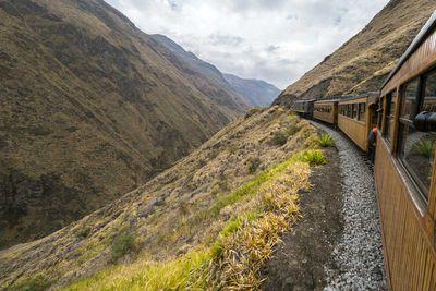 Nose of the Devil Railroad, Ecuador