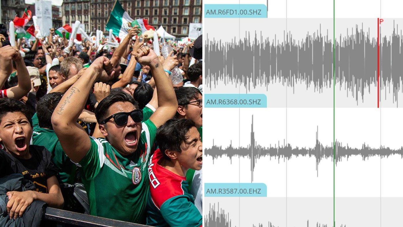 Mexican fans trigger minor earthquake in Mexico City after upset World Cup win over champions Germany