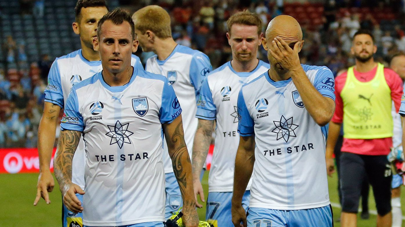 Football: Newcastle Jets humble champions Sydney FC in top-of-the-table A-League match