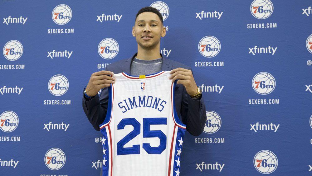 Ben Simmons. (AAP)