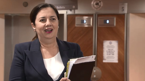 """Queensland Premier Annastacia Palaszczuk has this evening talked about """"a good meeting"""" among National Cabinet today, painting a """"positive"""" conversation between states."""