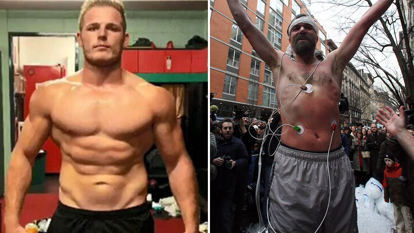 EXCLUSIVE: 'The Iceman' behind physical overhaul of Rabbitohs star Tom Burgess