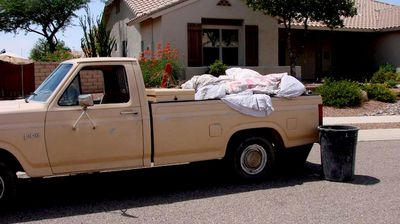 A tie-down tarp for the back of a ute. (MyExWifesWeddingDress.com)
