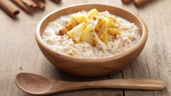 Apple porridge recipe as featured in Shape Me by Susie Burrell