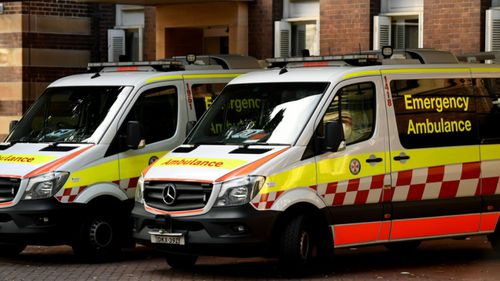 Two people taken to hospital, 10 evacuated after chemical reaction at warehouse north of Sydney
