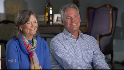 Theresa hadn't seen Iain and Julia since that farewell, but two decades on they were reunited on 60 Minutes.