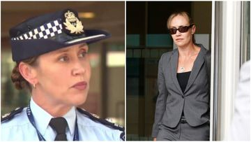 Senior police officer accused of perjury rushes from court