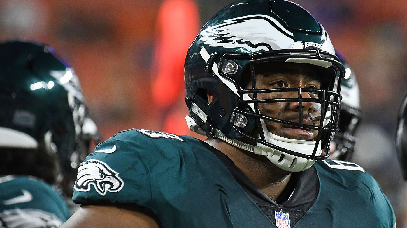 Australian rookie Jordan Mailata opens up on the struggles of being an NFL rookie