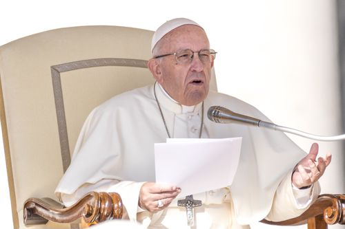 Pope Francis compares having an abortion to hiring a 'hitman to solve the problem'