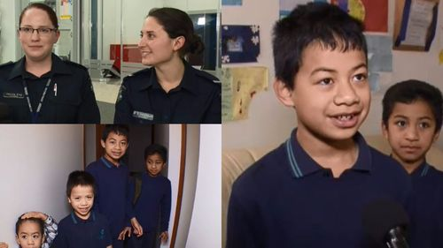 Police officers help deliver Melbourne mum's baby after her 10-year-old son called for help