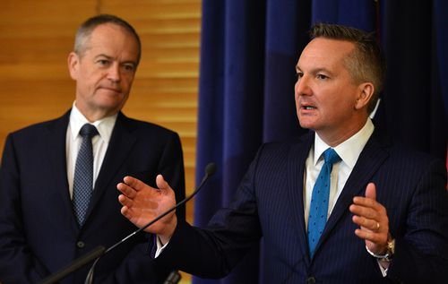 """Shadow Treasurer Chris Bowen said removing 300,000 pensioners and income support recipients from their proposed policy was about making a """"progressive policy even more progressive"""". (AAP)"""