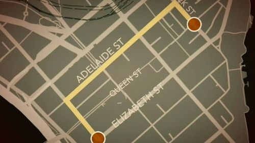 Close to 100,000 people are predicted to fill the streets of the CBD for the annual dawn service and parade. Picture: 9NEWS.