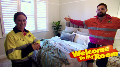 Welcome To My Room: Daniel and Jade reveal the standout detail of their room