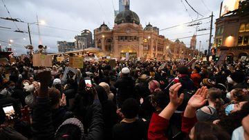 Melbourne Black Lives Matter rally