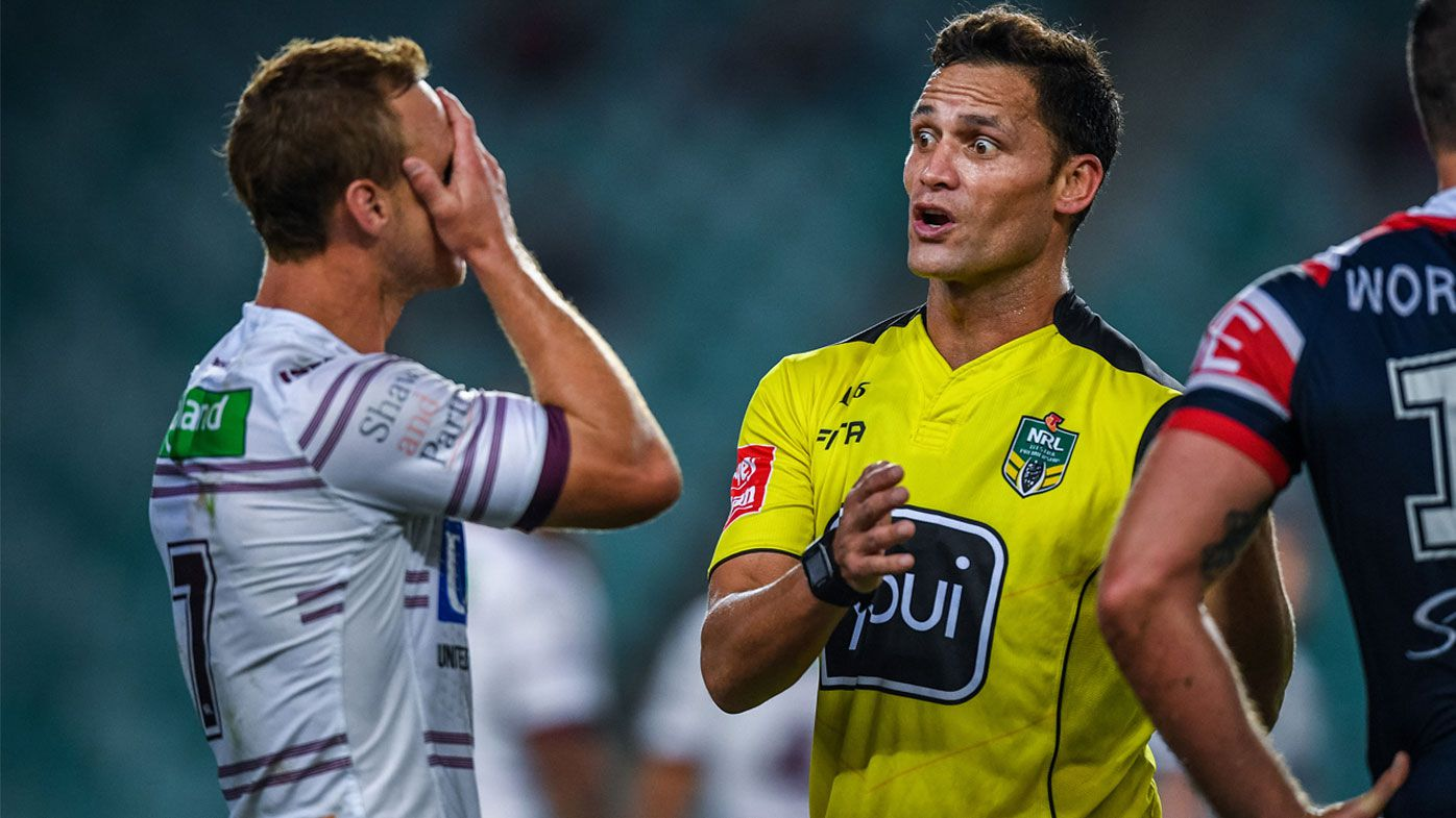 NRL employs sports psychologist to help referees deal with internet trolls