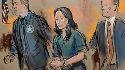 Yujing Zhang appeared in a Florida court today.