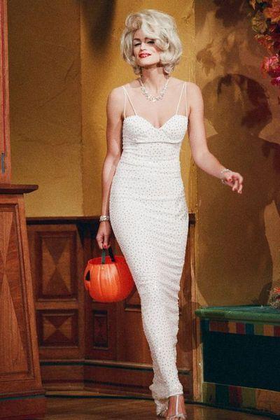 Cindy Crawford as Marilyn Monroe, 1996