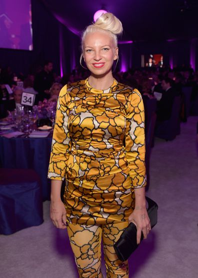 Sia, 23rd Annual Elton John AIDS Foundation Academy Awards, viewing party, February 22, 2015, Los Angeles, California