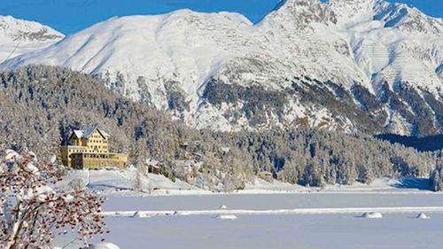 The Waldhaus Hotel in St Moritz, Switzerland. (Supplied)