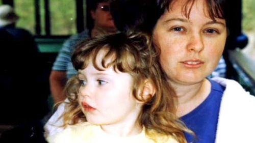 A screenshot of Chantelle McDougall and her daughter Leela.