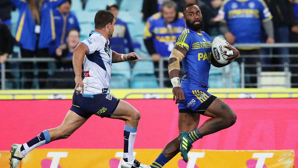 Parramatta Eels back on track with big win over Gold Coast Titans