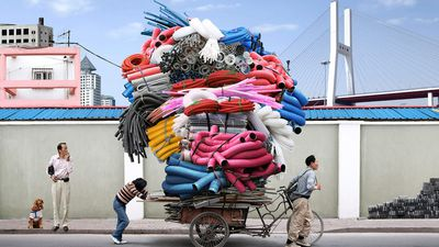 People carry extreme furniture loads in thought-provoking photographs