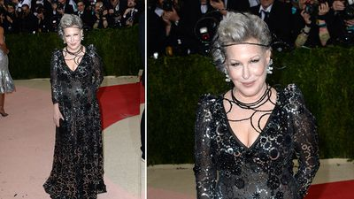 Actress Bette Midler. (AAP)