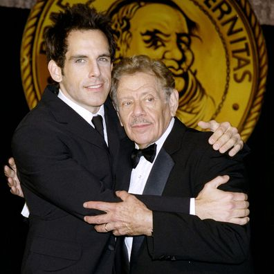 Jerry Stiller and Ben Stiller