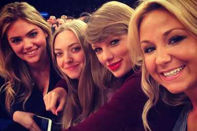You <I>can</I> sit with us! Although T-Swizzle looks like your typical mean girl, she sure doesn't act like one.<br/><br/>Just ask one of her celeb pals Kate Upton or Amanda Seyfried.