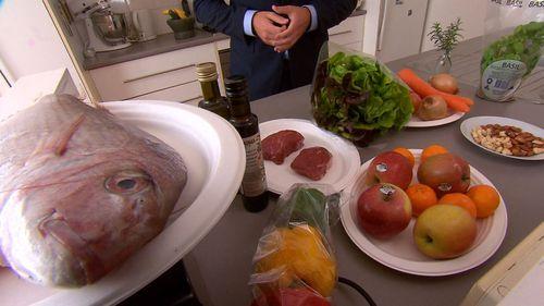 The paleo diet enforces a strict nutritional regimen of meat, fish, leafy vegetables and fruit.